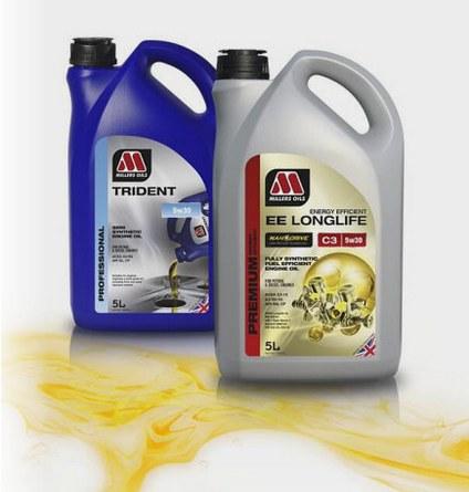 Motorové oleje, kapaliny, maziva, aditiva Millers oils pro maximální výkon-eshop