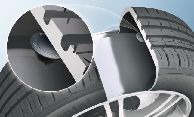 TPMS, tire-pressure monitoring system for vehicles Děčín - new VDO REDI sensors, the Czech Republic