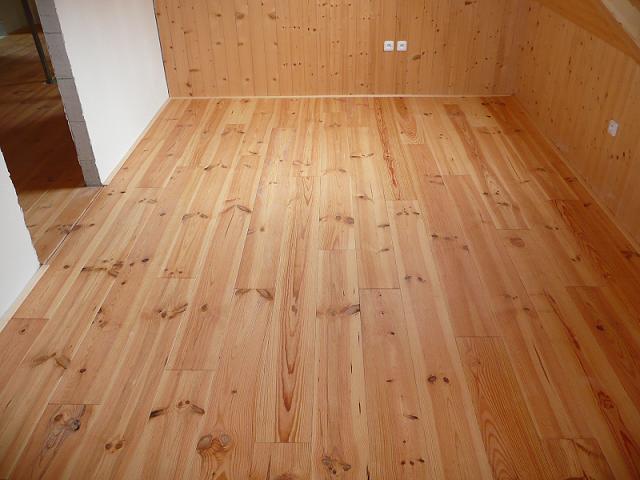 Kvalitní dřevěné podlahy do prostor s menším zatížením, Znojmo