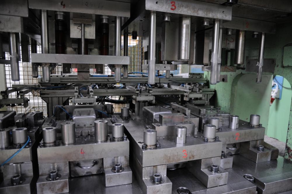 Velkokapacitní kovovýroba Ostrava - s úpravami