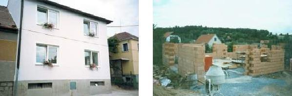 Výstavba nových domů na klíč, novostavby, přístavby, rekonstrukce koupelen, stavby Náměšť nad Oslavou