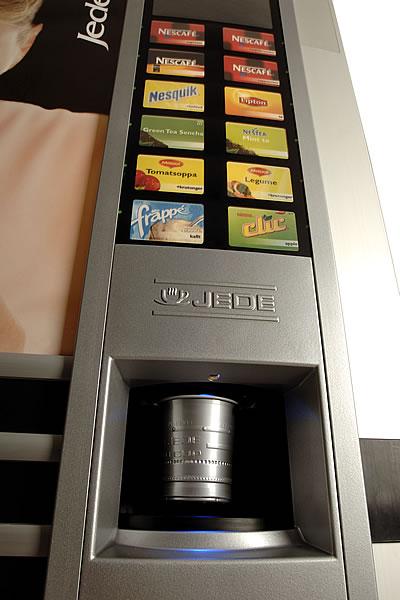 Nápojové automaty JEDE, InCup Liberec