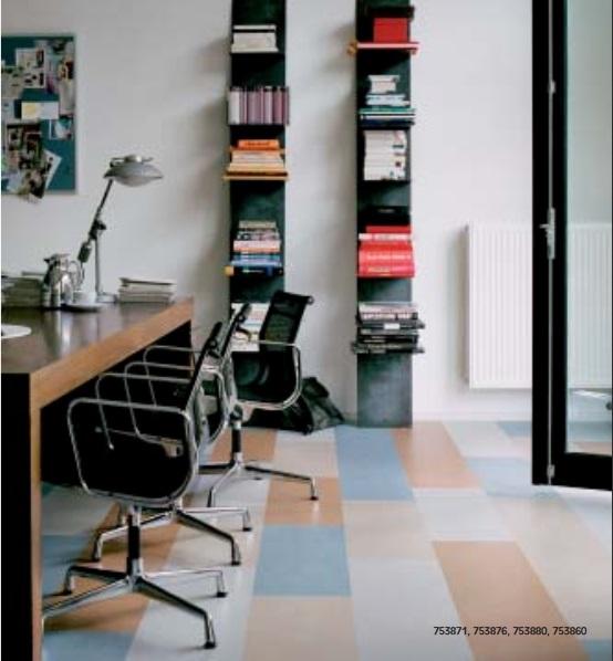 Marmoleum Click - přírodní plovoucí podlaha vhodná nejen pro alergiky