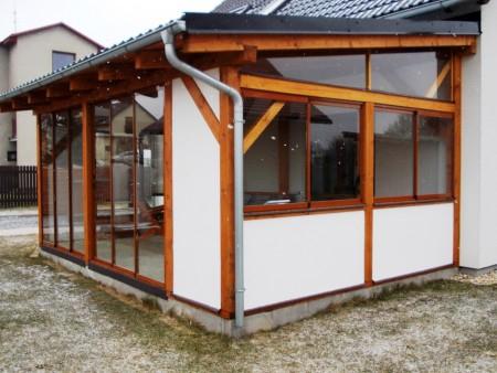 Hliníkové zimní zahrady, zasklívání pergol a přístřešků Vysočina