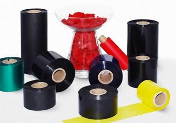 Barvicí pásky TTR - voskové, směsové, pryskyřičné, barevné