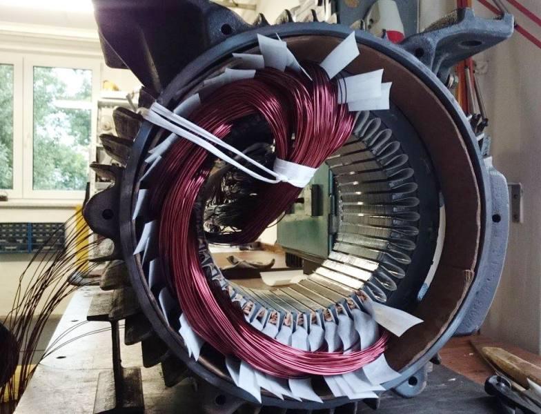 Servis elektromotorů - opravy, převíjení a navíjení Krnov, Bruntál