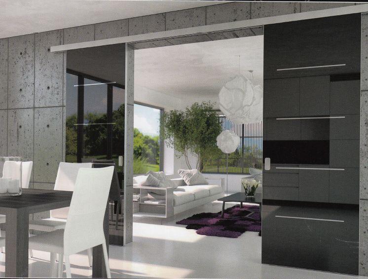 Interiérové dveře Sande a celoskleněné posuvné dveřní systémy a stěny Jap i Stylus