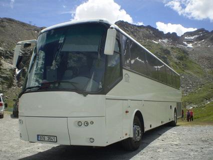 Autobusová doprava na školní výlet, zájezd Ostrava