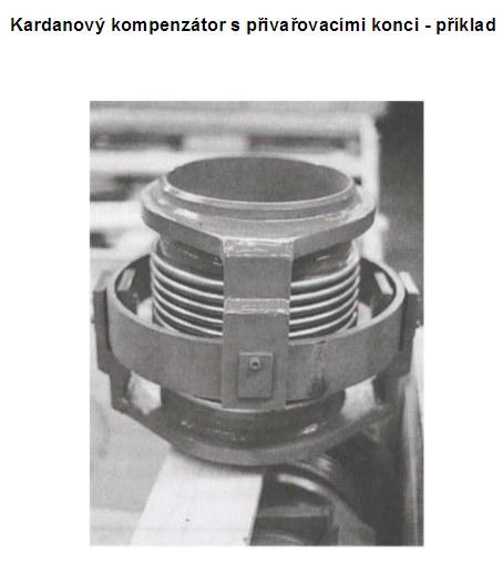 kardanový kompenzátor