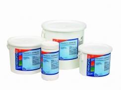 Prodej bazénové chemie, chlórové tablety, flokulant, pH plus, pH mínus