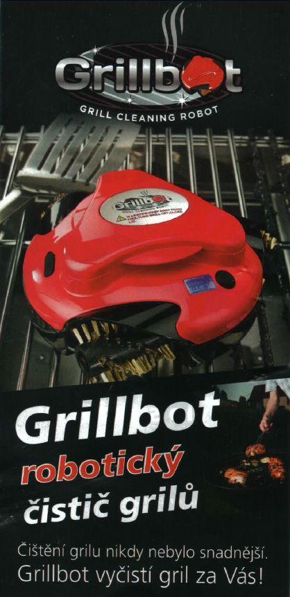 Jedinečný Grillbot - automatický čistič grilu pro zdravé grilování a úsporu času