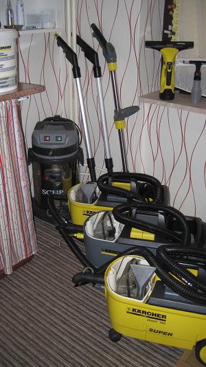 Půjčovna, pronájem strojů na čištění koberců a čalounění