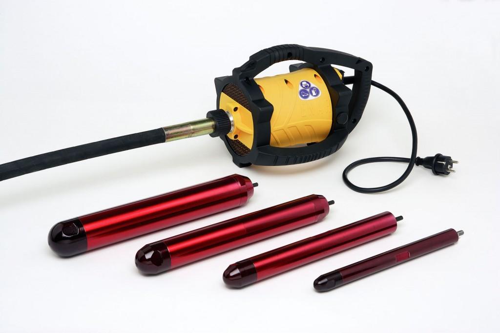Mechanický vibrátor betonu ENAR - Dingo včetně ochranného krytu