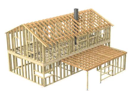 Výstavba rodinných domů a dřevostaveb na klíč