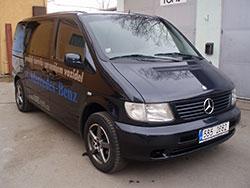 Pronájem užitkových vozů Brno