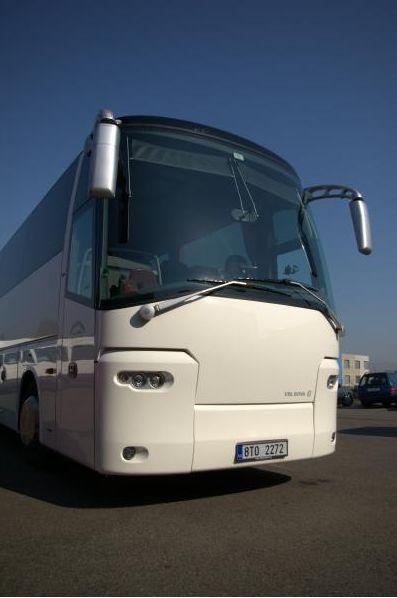 Doprava komfortními autobusy do ČR
