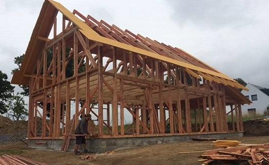 Výstavba rodinných domů a nízkoenergetických ekonomických dřevostaveb