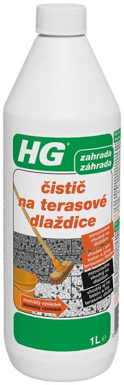 Čističe HG pro terasy Ostrava