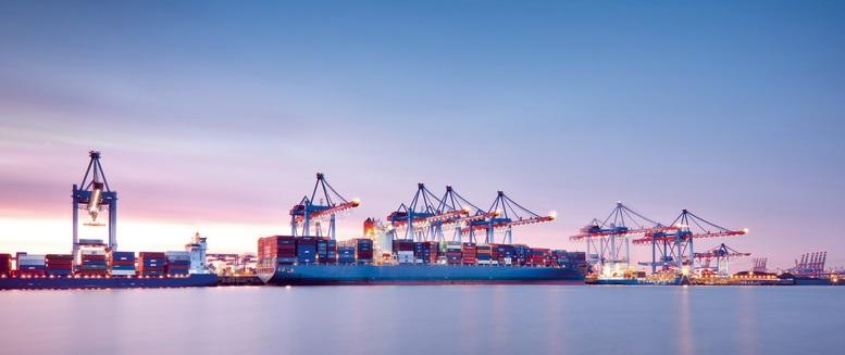 Ocelové námořní přepravní kontejnery