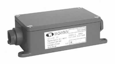 Převodník pro odporový vysílač teploty Pt 100 v Al krabičce