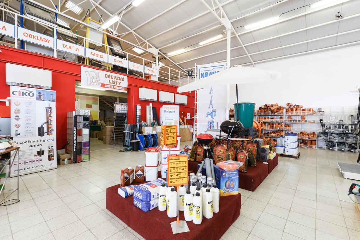 Prodejna PRO-DOMA Tvarožná-Brno