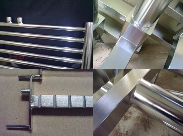 Surface treatment, electrochemical polishing of stainless steel products, the Czech Republic