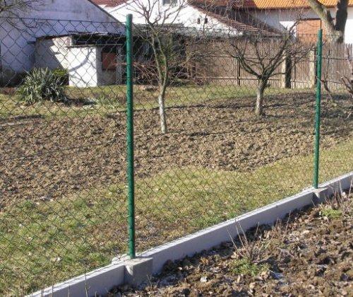 Podhrabové desky z betonu pro plot Frýdek Místek