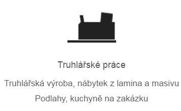 Truhlářství Plzeň - truhlářské práce, výroba, nábytek z lamina i masivu