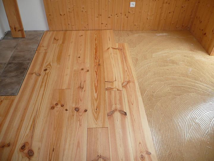 Pokládka, montáž všech druhů podlah Znojmo