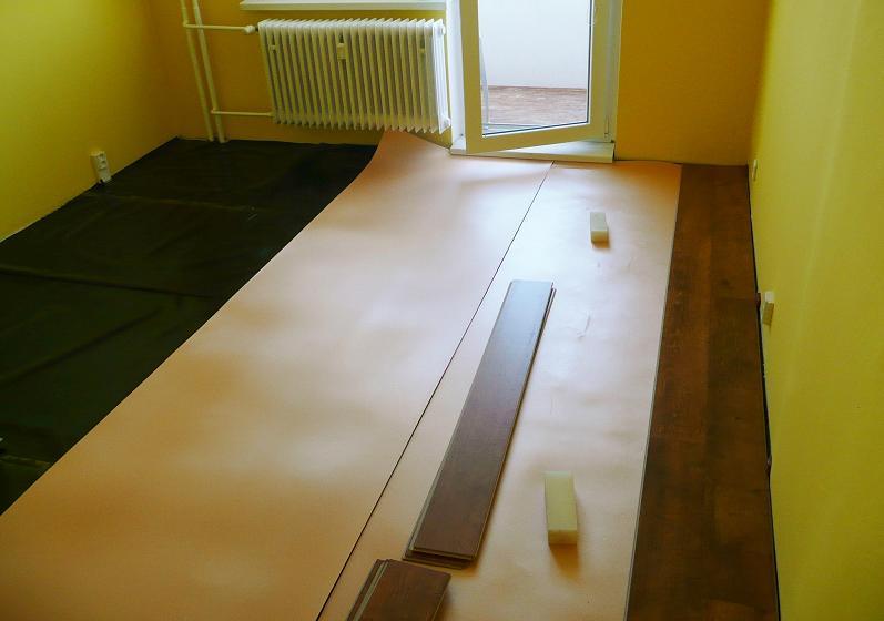 Pokládka laminátové podlahy, Znojmo