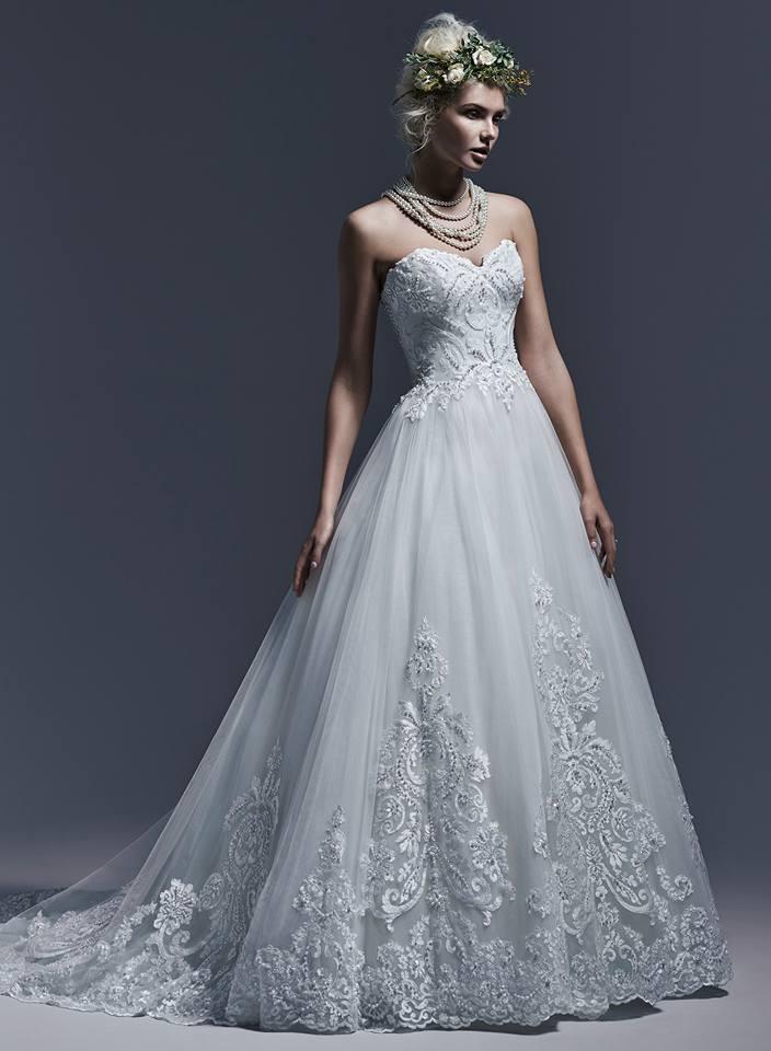 nový model svatební šatů Maggie Sottero Dawnelle d8f3430b51e