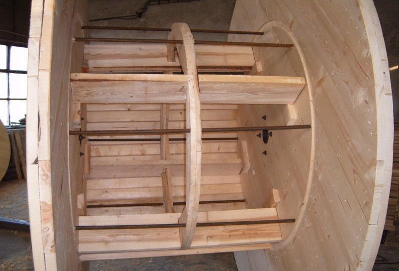Výroba a vývoz drevených káblových bubnov na zákazku Česká republika
