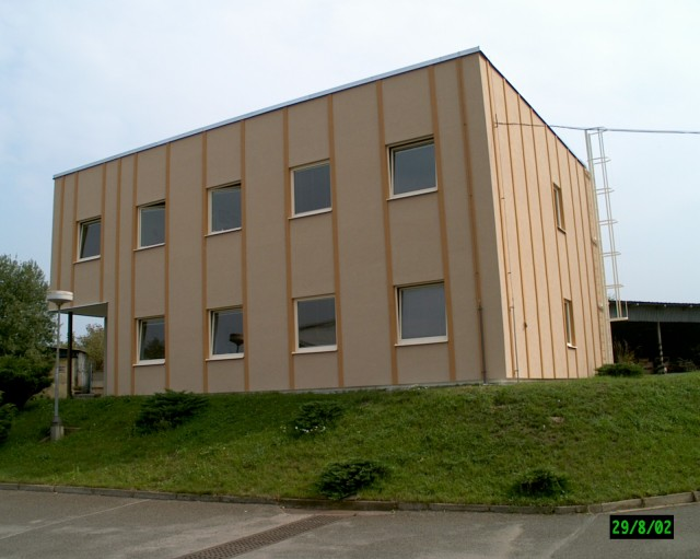 zateplení administrativní budovy - SANACE Zlín