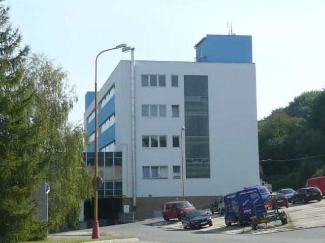zateplení fasády budovy skladu Zlín