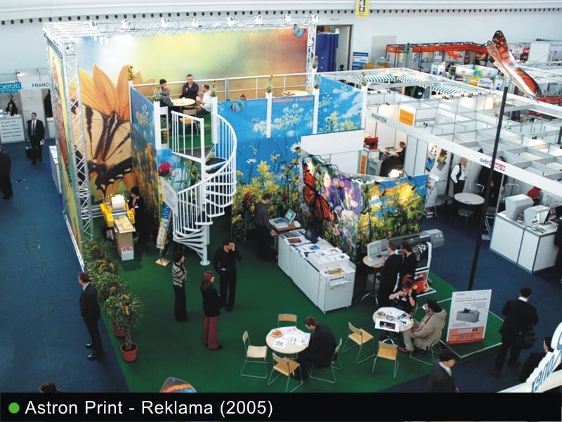 Komerční výstavy, veletrhy - realizace