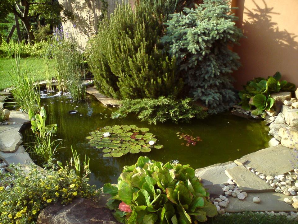 Izolace zahradního jezírka Uherské Hradiště