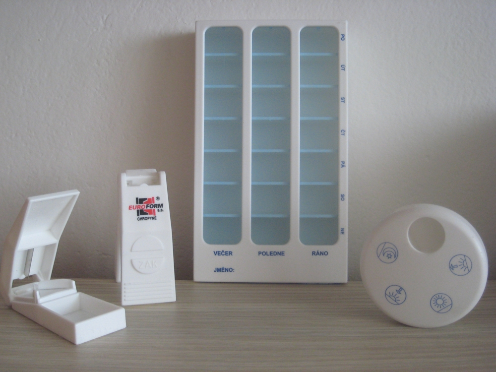 Plastové zásobníky na tablety-velkoobchod, výroba