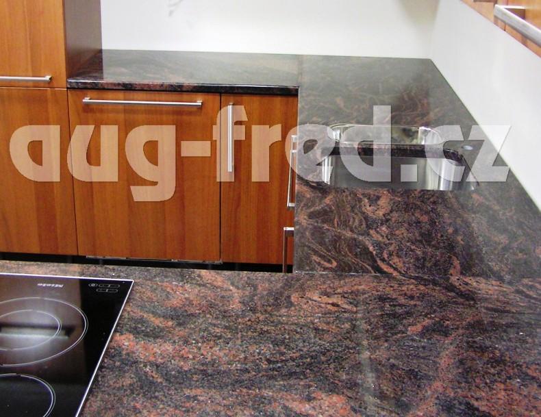 Žulové pracovní desky na kuchyňské linky Opava