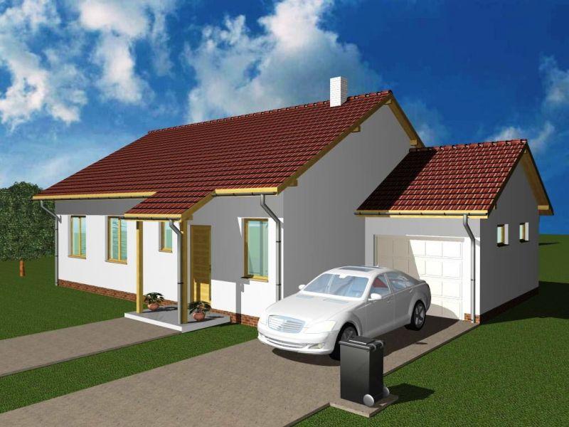 Rychlá výstavba dřevostavby-typové domy k obývání za 4 měsíce