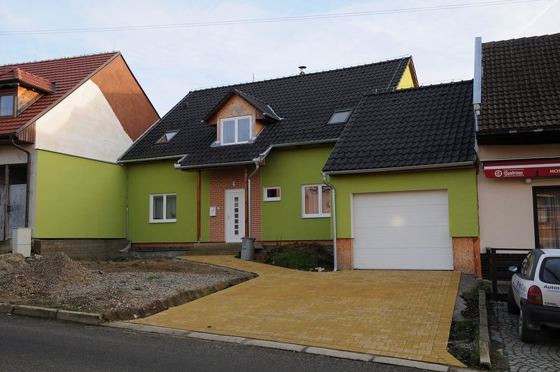 Dřevostavba - rodinný dům Popovice - Uherské Hradiště