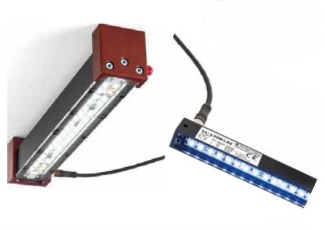 osvětlení pro technologii strojového vidění