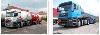 Nákladní autodoprava a cisternová přeprava ADR po České republice i v zahraničí