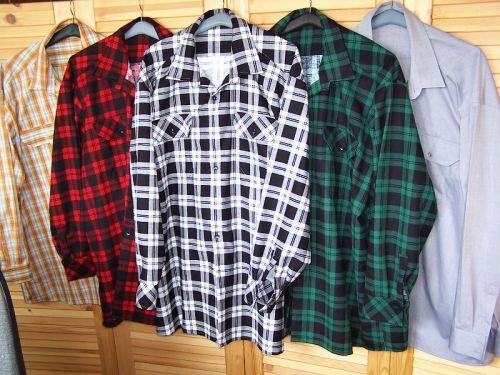 Pánské košile, pyžama, trenky na zakázku, šití košilí na míru - flanelky