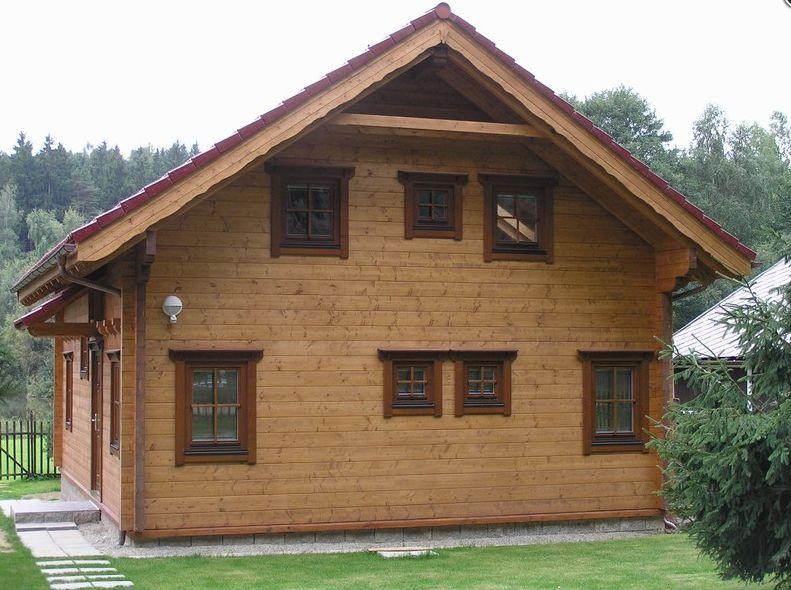 Výroba srubových, dřevěných domů, dřevostavby - zdravé a moderní bydlení