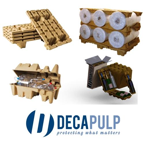 Obaly z nasávané kartonáže - ochranné a balící proložky pro průmysl a spotřební elektroniku