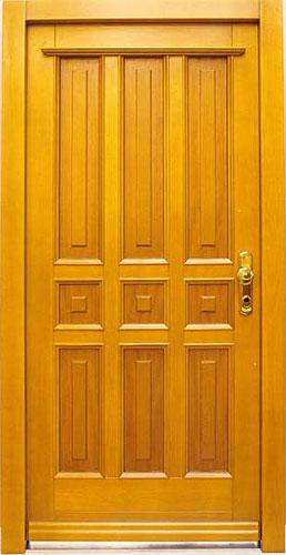Výměna vchodových dveří u rodinných domů OKAL