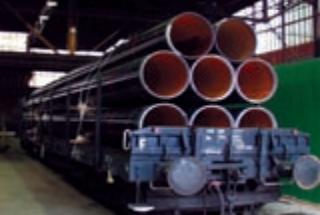 Welded steel tubes with helical weld for flammable liquid and gas media distribution, the Czech Republic