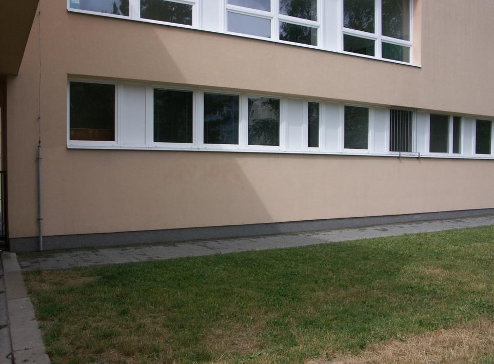 stav fasády po odstranění graffiti