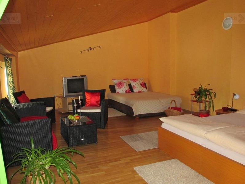 Apartmán pro 4 osoby s vířivkou v Penzionu Hana Holešov s možností parkování