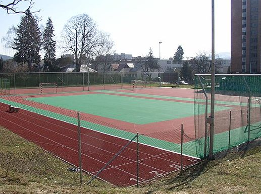 Sportovní areál pro míčové hry Zlín